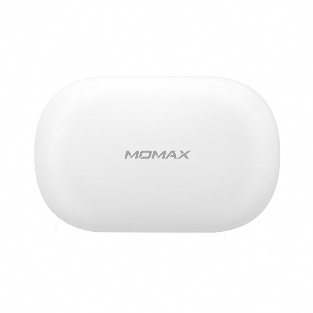 MOMAX|JOYFIT 掛耳+入耳式真無線運動藍牙耳機(BT3)-白