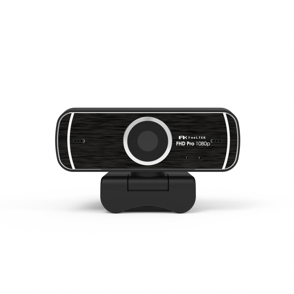 Feeltek Elec FHD Pro Webcam 1080P 高畫質網路攝影機(附三角架)