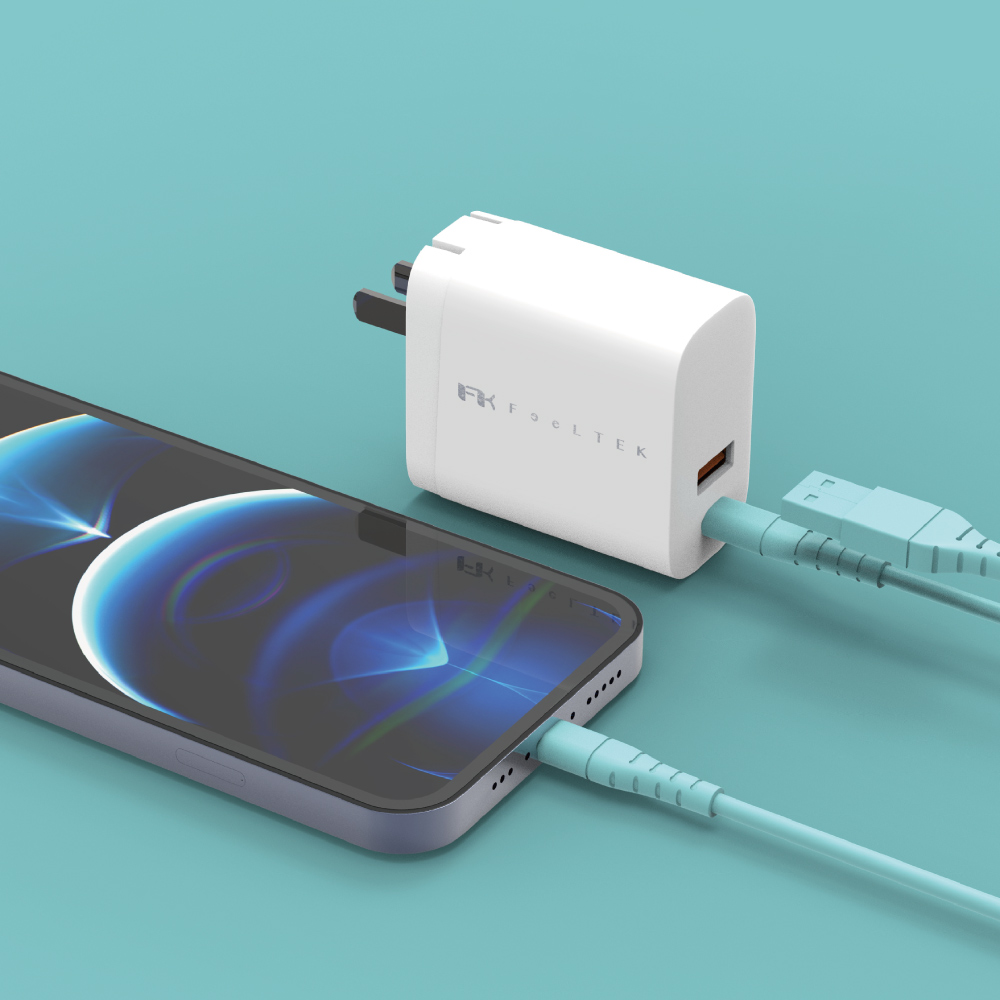 Feeltek|30W PD快充充電器(支援iPhone12 20W快充)