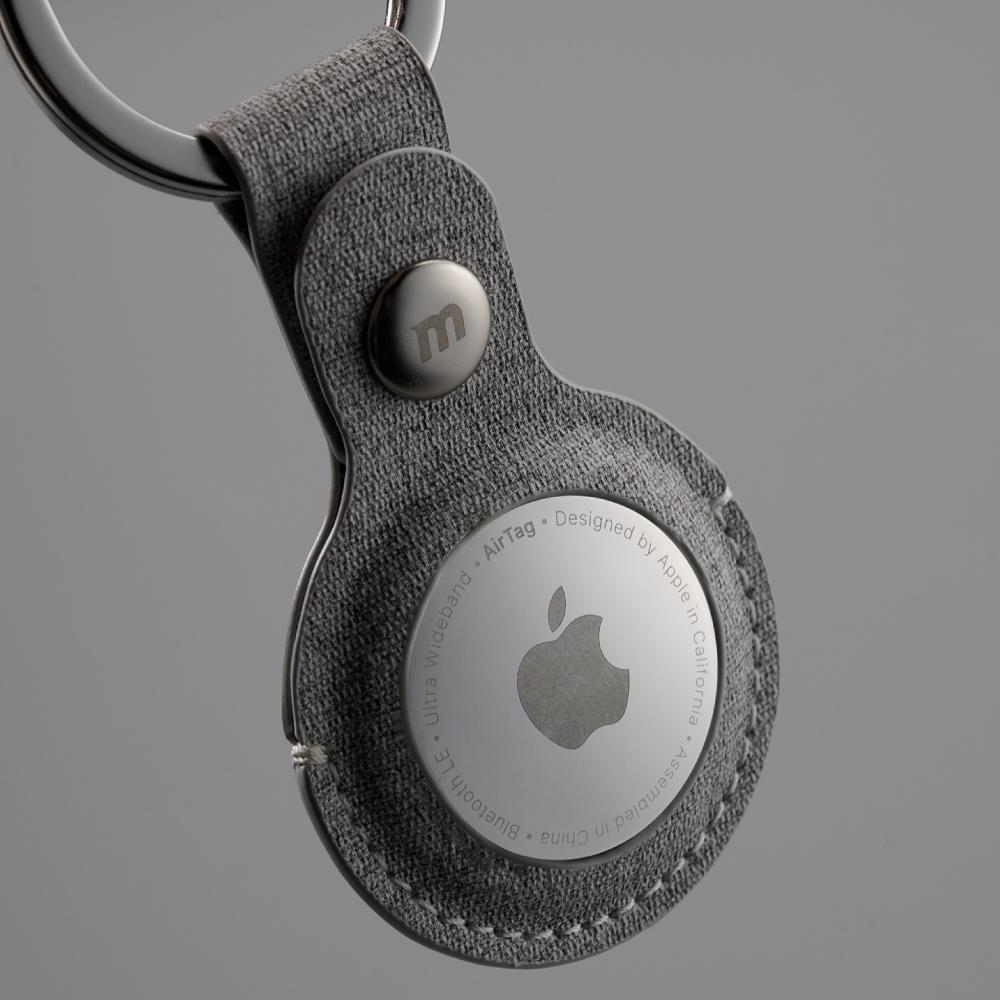 MOMAX|Ring Case AirTag 專用保護套(SR26)-深灰