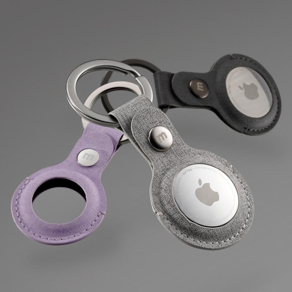 MOMAX Ring Case AirTag 專用保護套(SR26)-紫