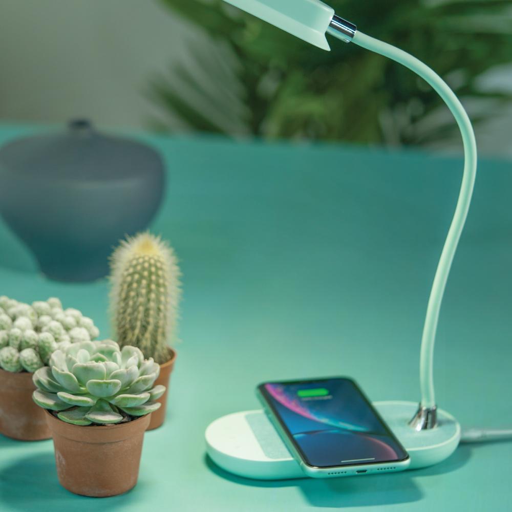 MOMAX|MOMAX Q.LED flex 無線充電檯燈(QL5)-綠