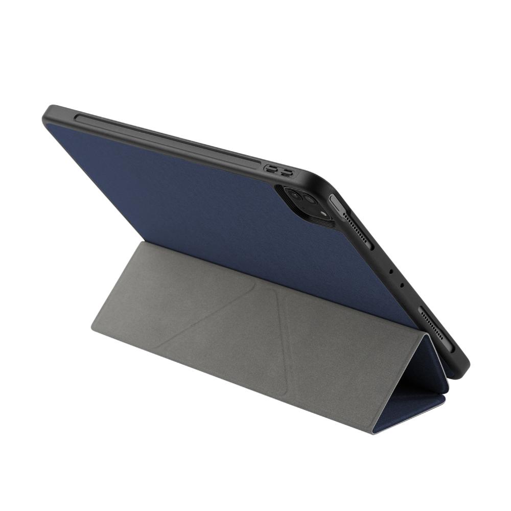MOMAX Flip Cover 連筆槽保護套(iPad Pro 11″ 2021)-深藍