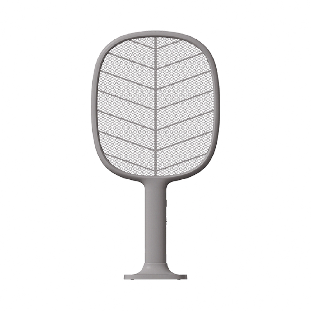 SOLOVE|P2+立式兩用電蚊拍(可當補蚊燈)-深灰色