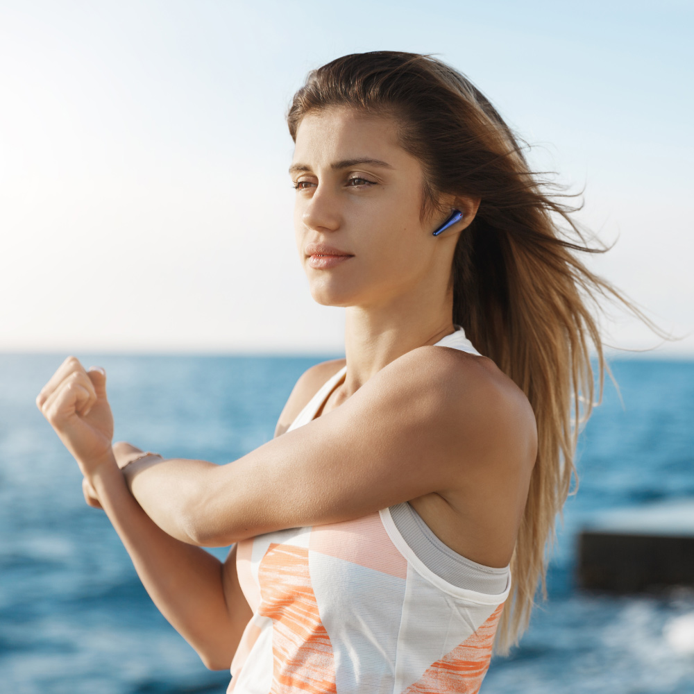 1MORE ComfoBuds Pro ES901 主動降噪耳機-極光藍