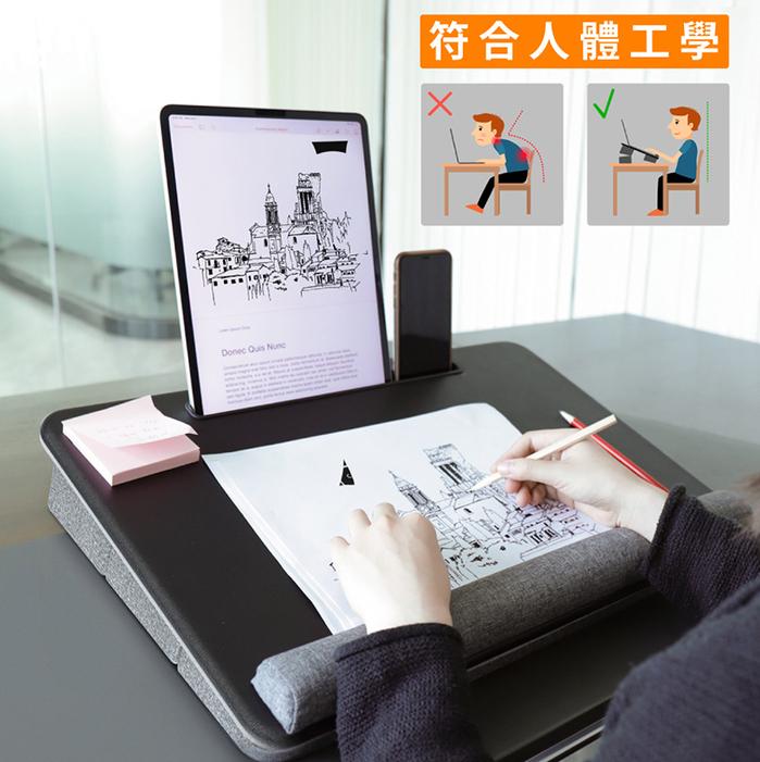 MONO DSIGN|移動式多功能膝上型筆電桌(Portable Lap Desk)