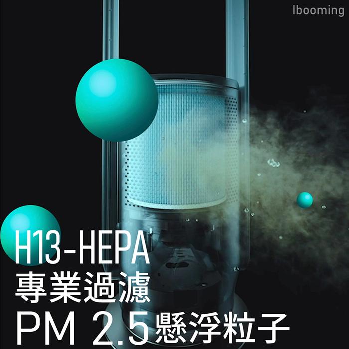 MOMAX UItra-Air IoT UV-C 空氣淨化無葉扇(AP6S)