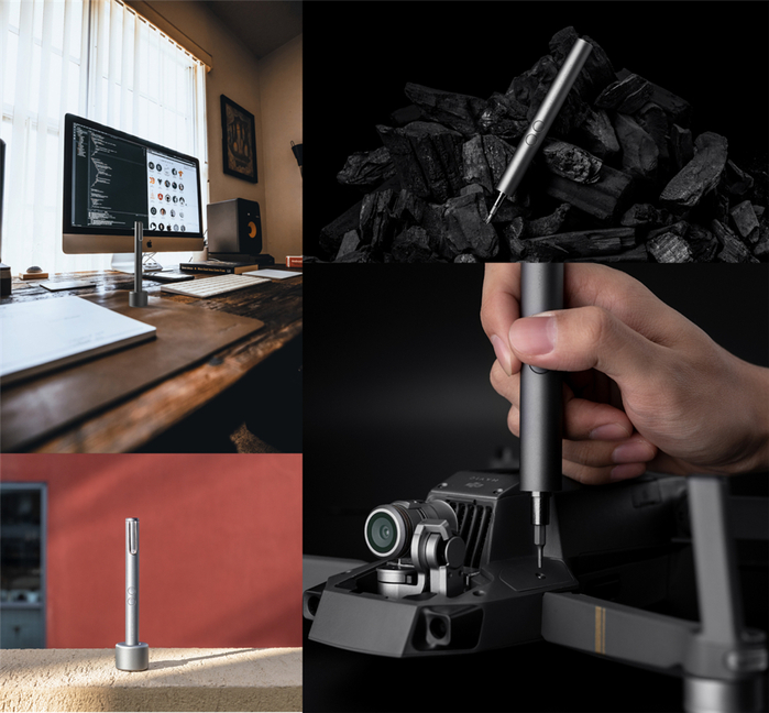 Wowstick │ Mini SD 56 in 1 萬用電動螺絲筆-全配專業組合