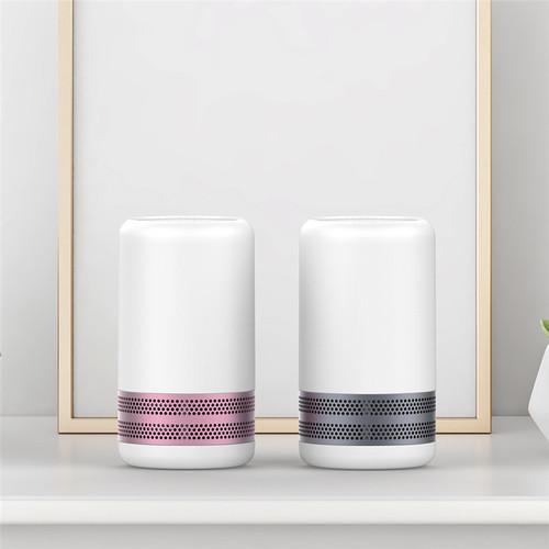 YFLife 圓方生活|AIR3 Plus  奈米光觸媒+負離子 雙效空氣淨化器 - 淡粉紅、星空灰