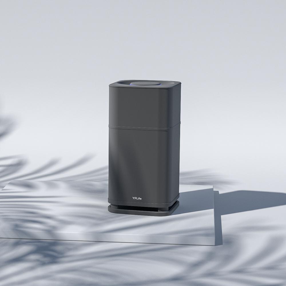 YFLife 圓方生活|AIR6 Plus 淨化王者 奈米光觸媒+負離子雙效淨化器(兩色任選)