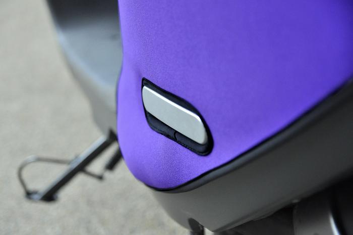 (複製)QAX   GOGORO 2/2 Plus/2 Delight/S2 專用車罩/車身保護套/防刮套 (太空灰)