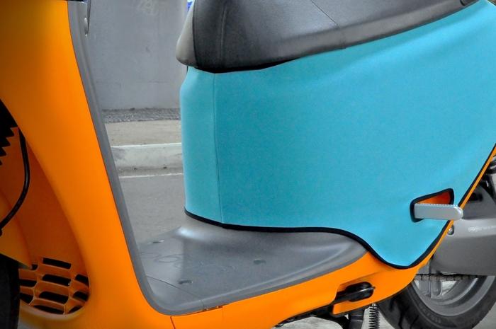 (複製)QAX | GOGORO 2/2 Plus/2 Delight/S2 專用車罩/車身保護套/防刮套 (軍綠)
