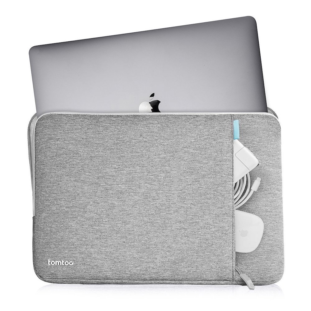 tomtoc | 360˚完全防護 (灰/適用12MacBook)