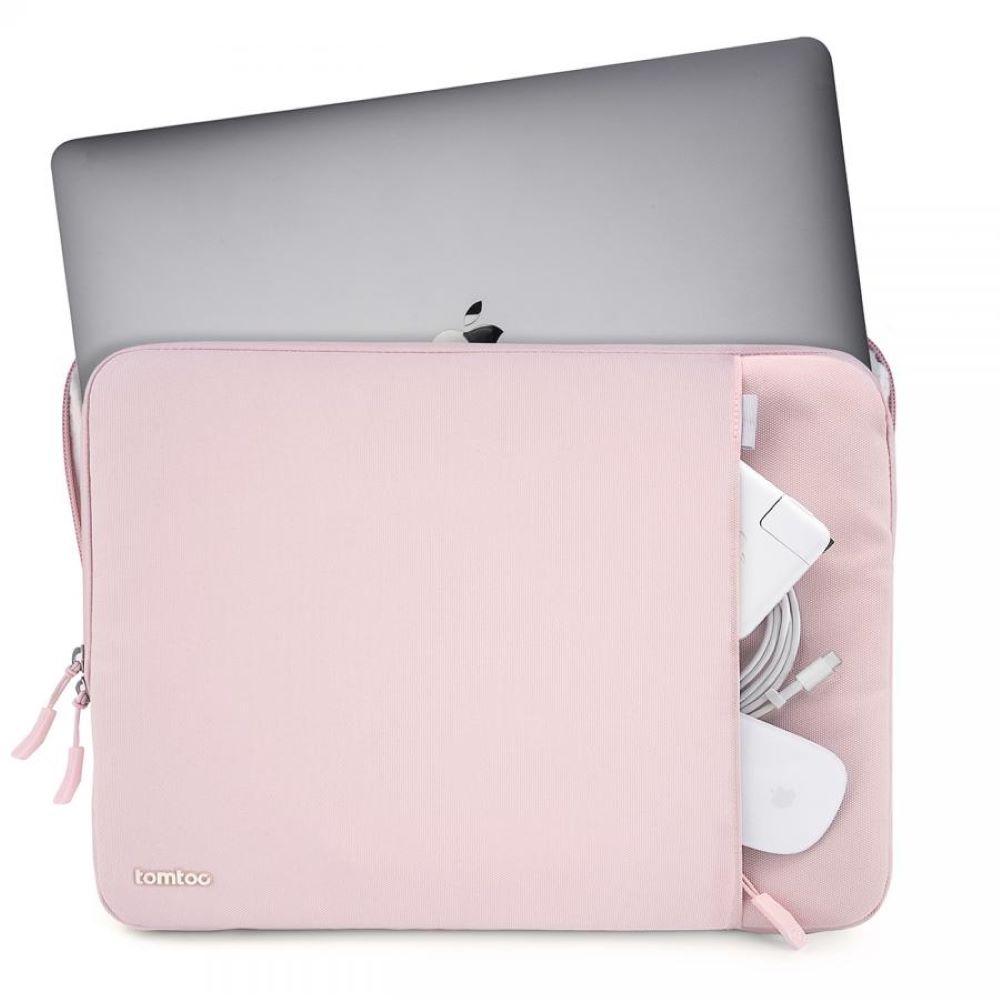 tomtoc|360˚完全防護 (粉/適用13MacBook Pro 2016後/New MacBook Air Retina 2018後)