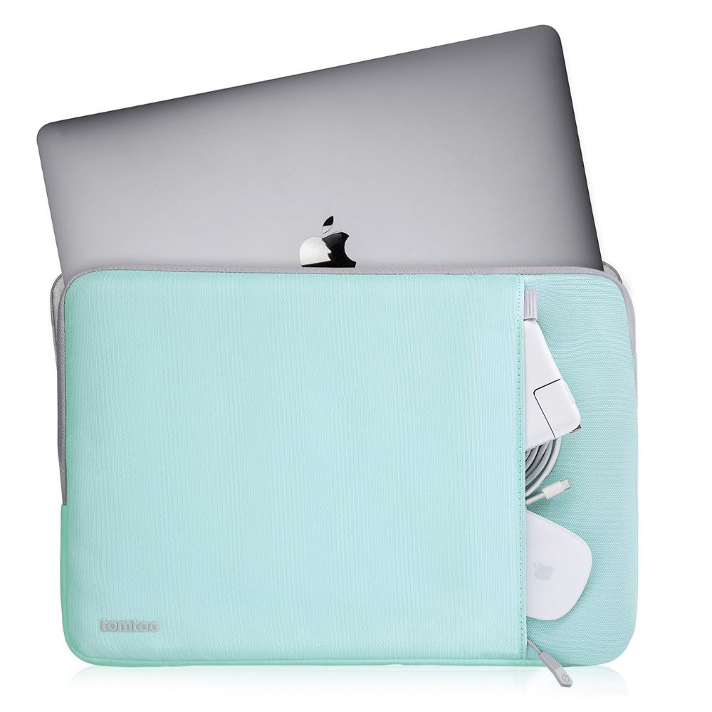 tomtoc | 360˚完全防護 (薄荷藍/適用13MacBook Pro 2012-2015/MacBook Air 2018前)