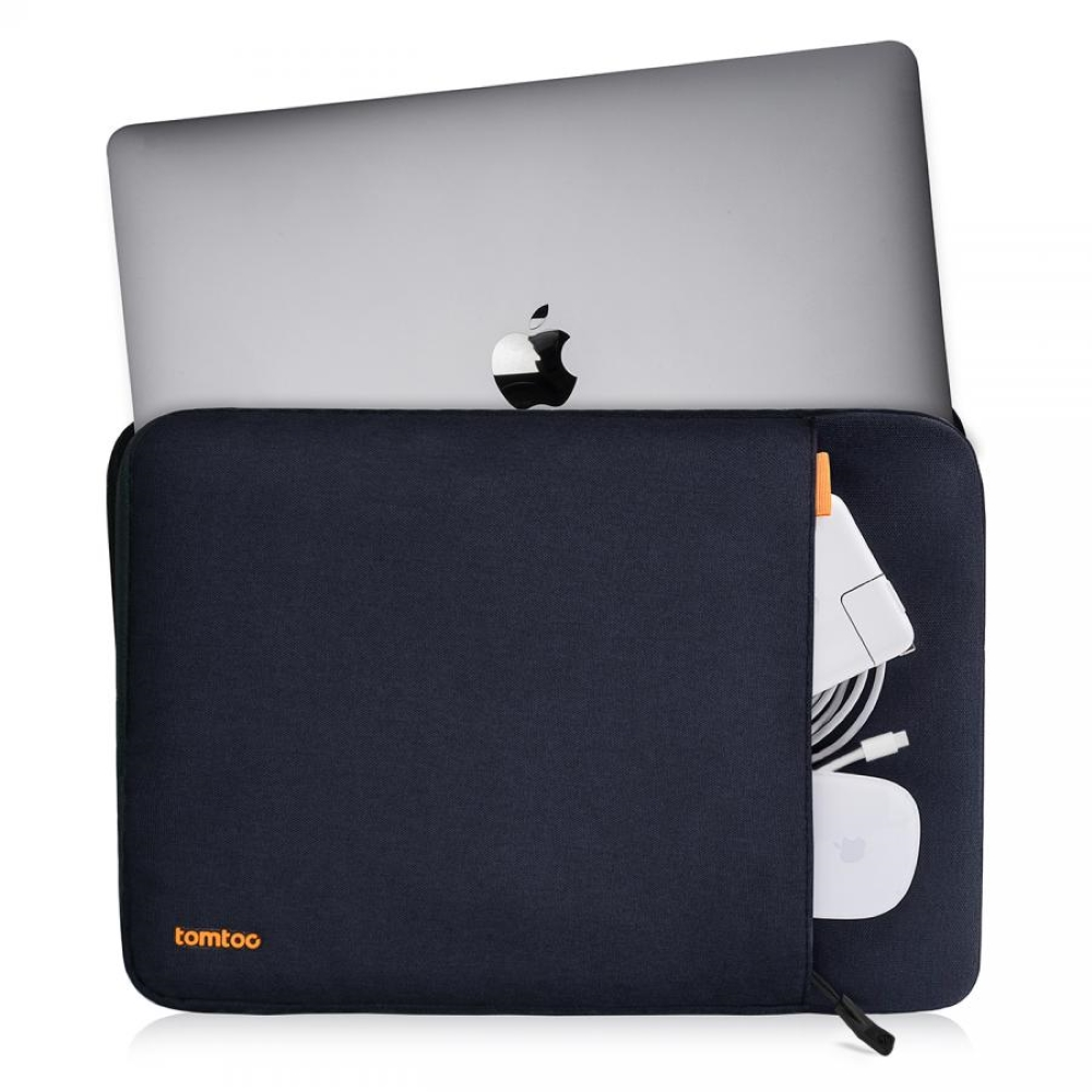 tomtoc | 360˚完全防護 (黑/適用13MacBook Pro 2016後/New MacBook Air Retina 2018後)