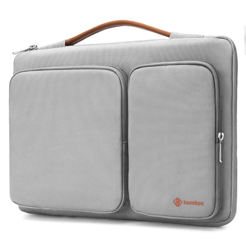 tomtoc | 美式簡約 (淺灰/適用13MacBook Pro 2012-2015/ MacBook Air 2018前)