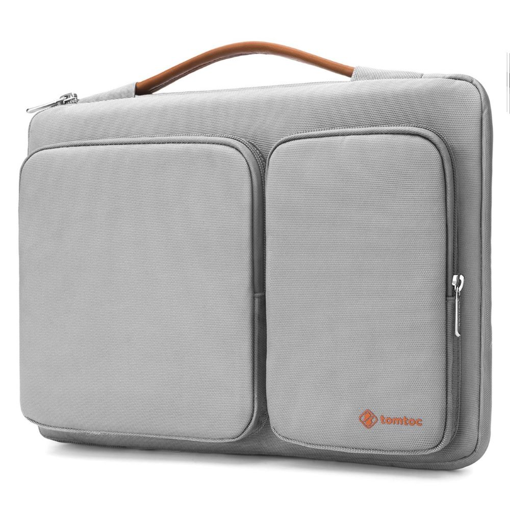 tomtoc | 美式簡約 (淺灰/適用13MacBook Pro 2016後/New MacBook Air Retina 2018後)