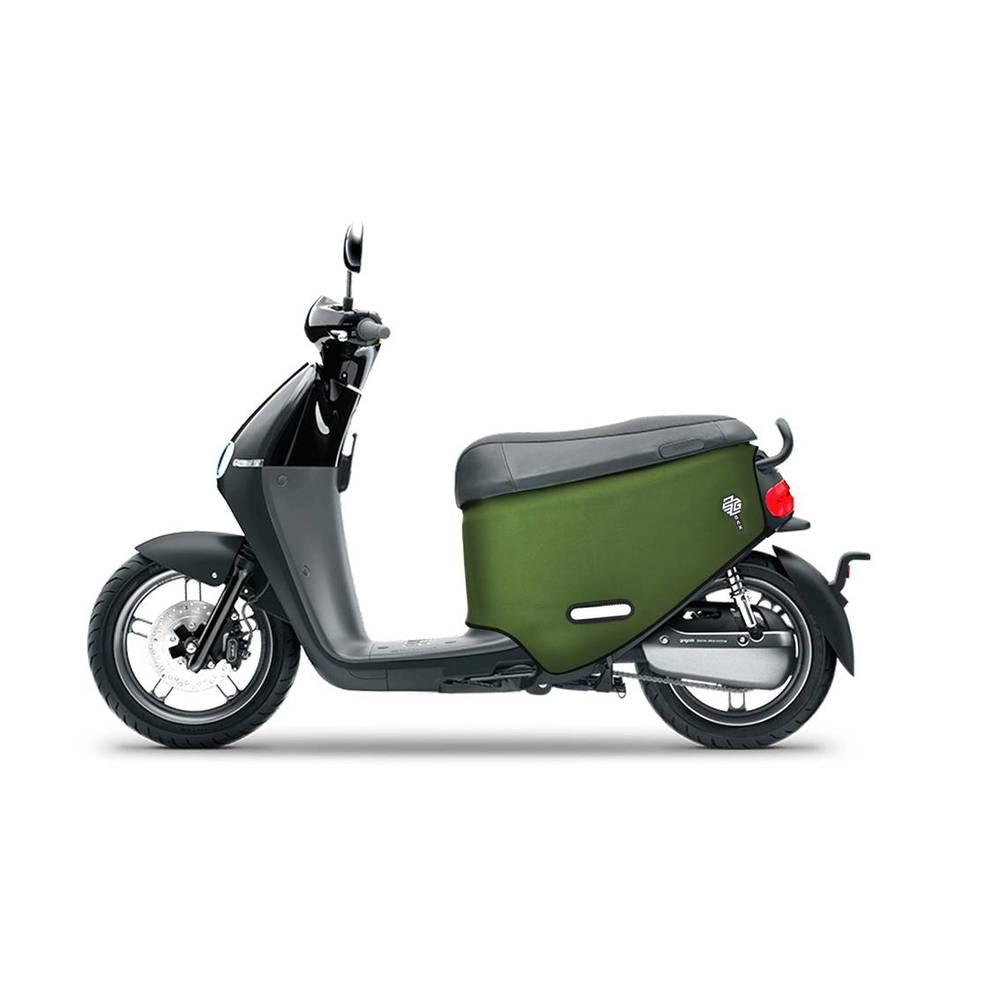 QAX|GOGORO 2/2 Plus/2 Delight/S2 專用車罩/車身保護套/防刮套 (軍綠)