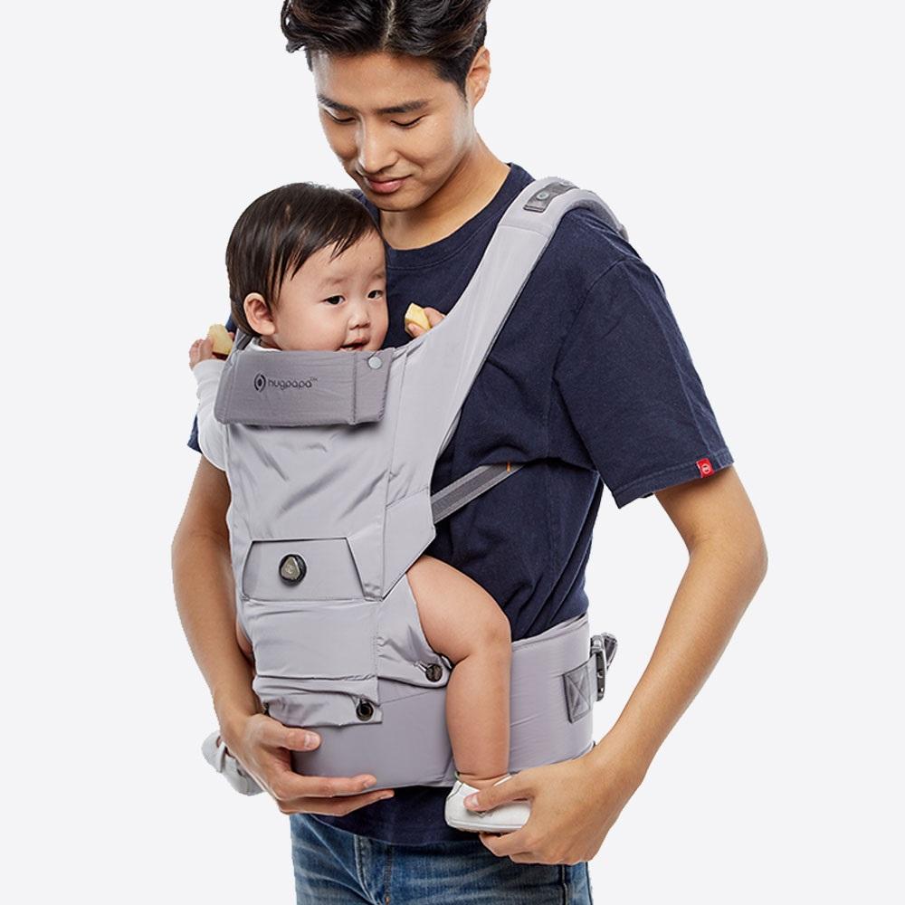 hugpapa|Dial-Fit超輕量機能旋鈕微調腰凳揹巾 (4色)
