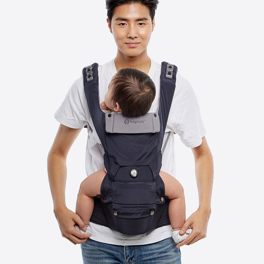 hugpapa|Dial-Fit超輕量機能旋鈕微調腰凳揹巾 (5色)