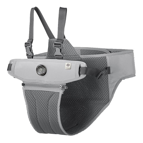 Hugpapa | Dial-Fit 兩用幼兒座椅 (兩色)