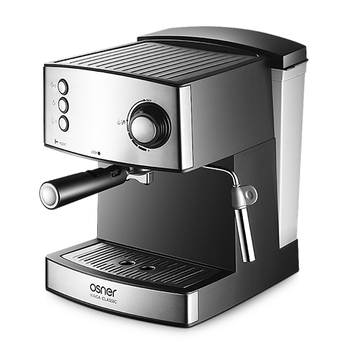 Osner韓國歐紳  YIRGA CLASSIC半自動義式咖啡機+膠囊咖啡用手柄組合 CM6825_YC O180310_YC