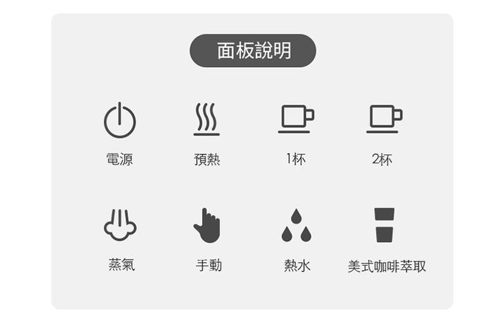 CHEFBORN|Esto 多功能半自動義式咖啡機組(適用義式/美式/膠囊)