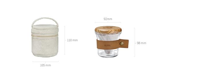 宜龍|紅點設計獎-手沖咖啡旅人-握杯