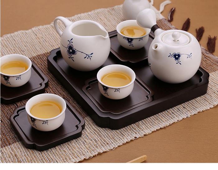 宜龍|墨唐草禮盒8入禮盒(壺+海+6杯)