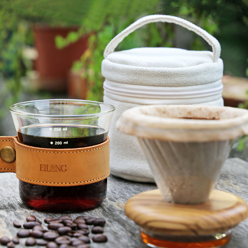 宜龍|手沖咖啡旅人-握杯