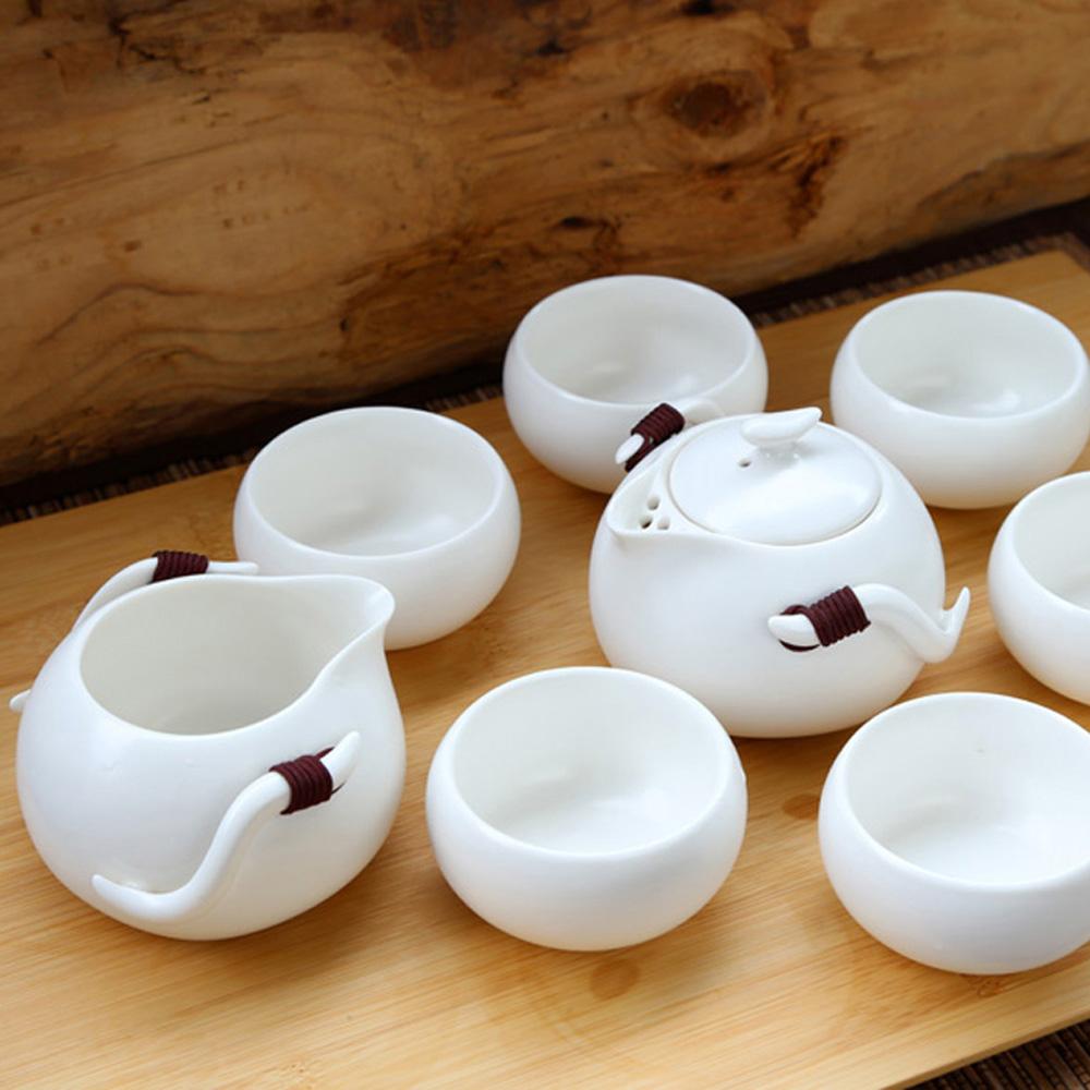 宜龍 定窯巧雲8入禮盒(壺+海+6杯)