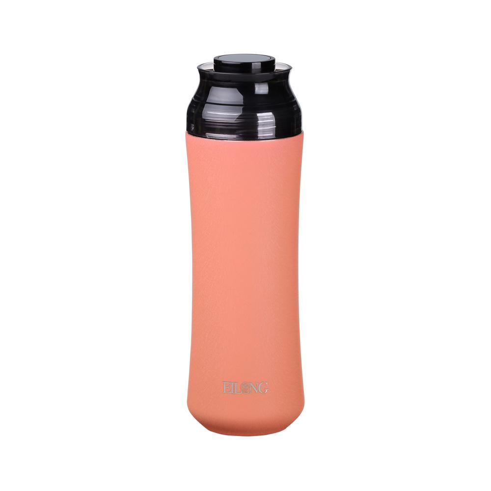 宜龍|輕瓷保溫瓶-玫瑰粉(400ml)