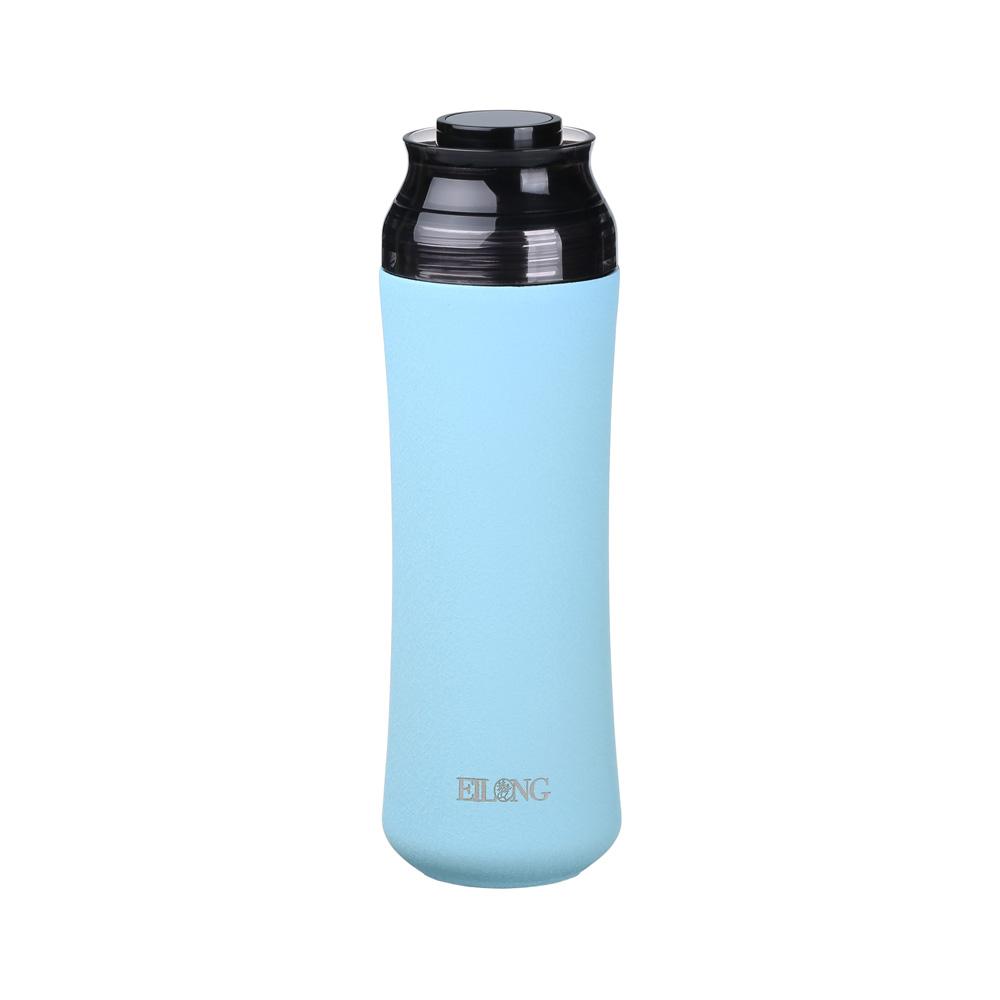 宜龍 輕瓷保溫瓶-光輝藍(400ml)