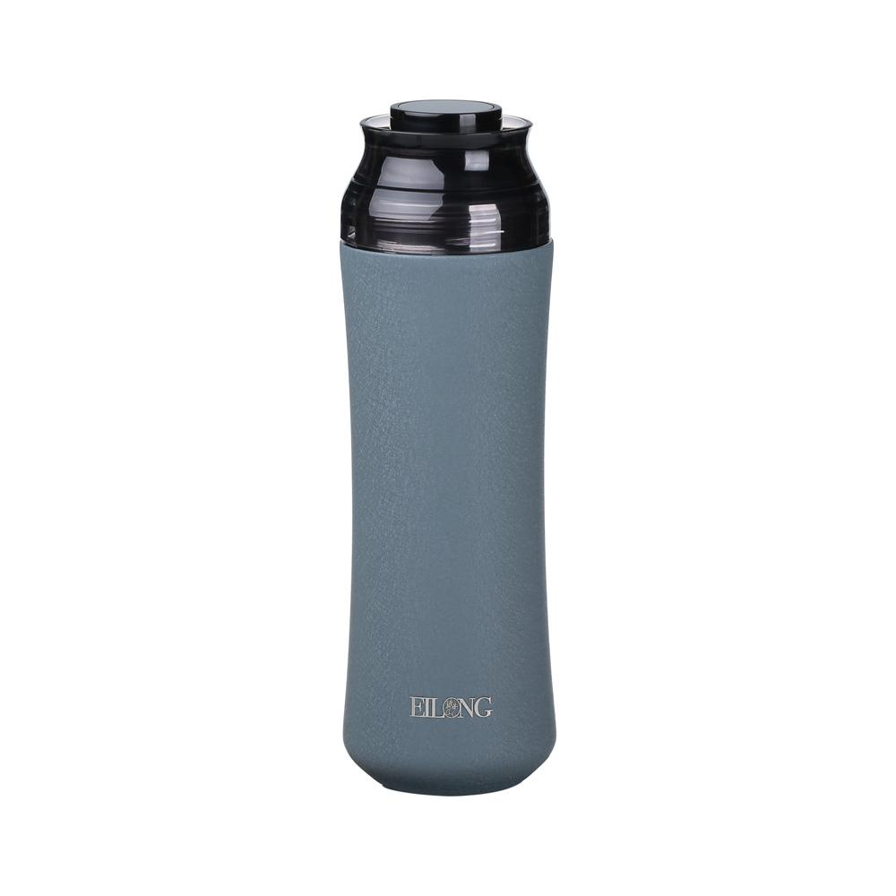宜龍|輕瓷保溫瓶-銀河灰(400ml)