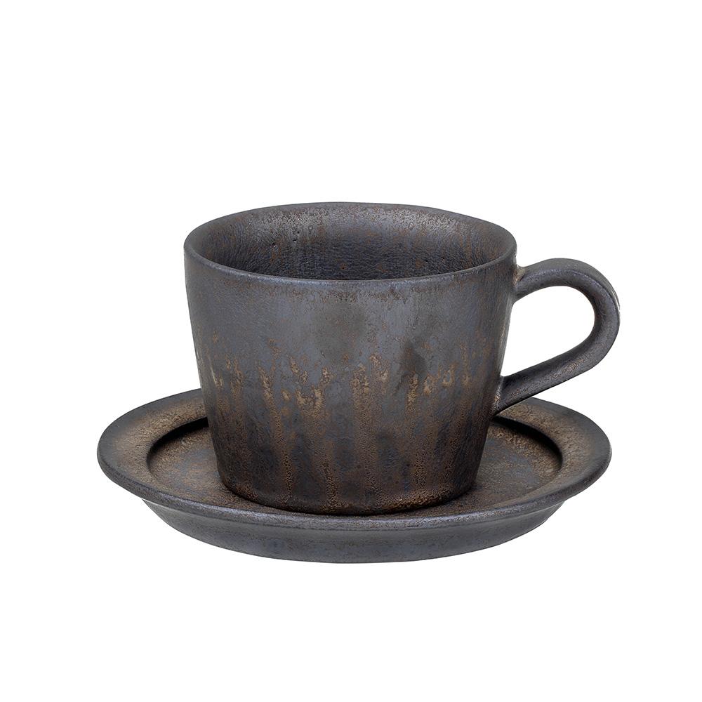 宜龍|黑鐵釉大山咖啡杯組(250ml)