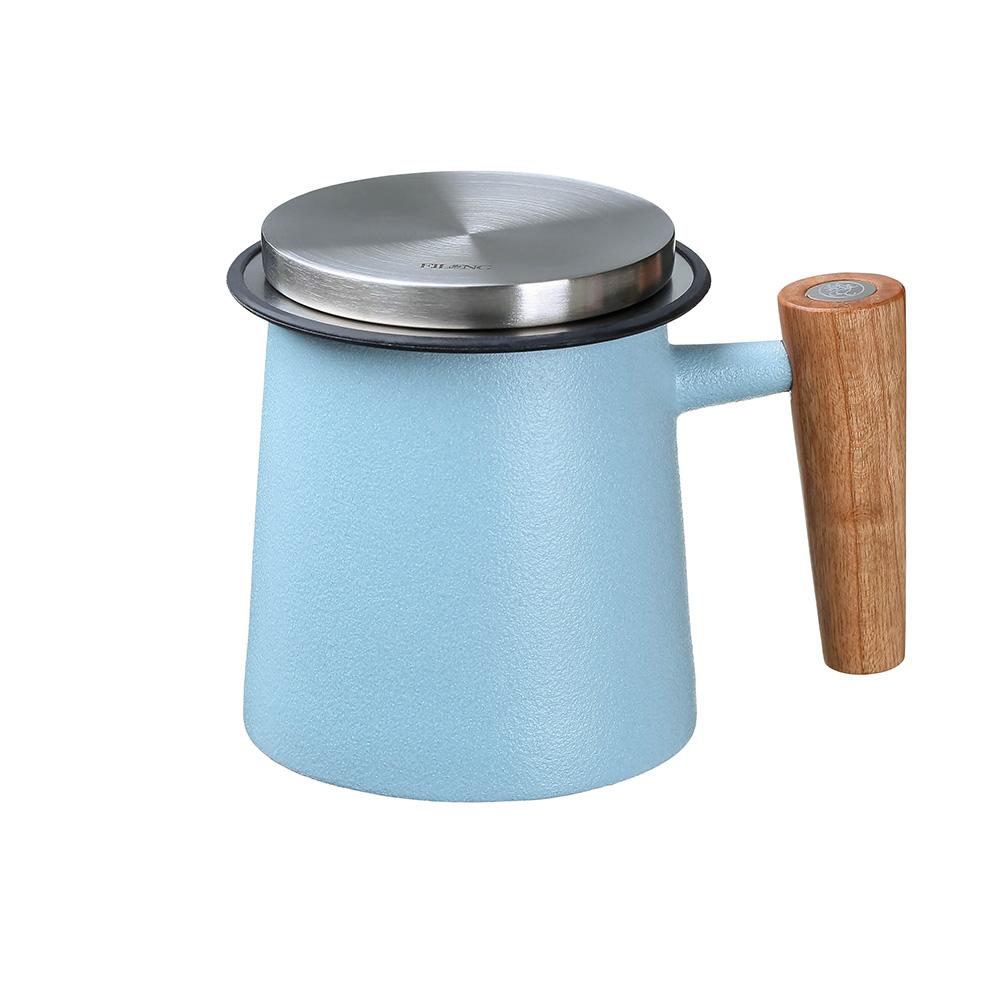 宜龍|人文馬克杯濾茶組(400ml)