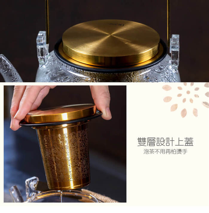 宜龍|璀璨玻璃提樑壺(700ml)