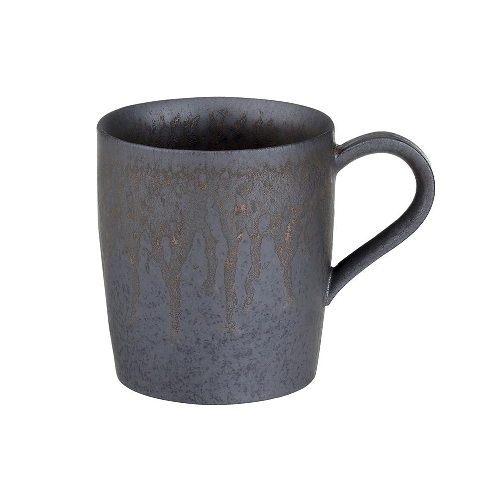 宜龍|黑鐵釉燧人-馬克杯(430ml)