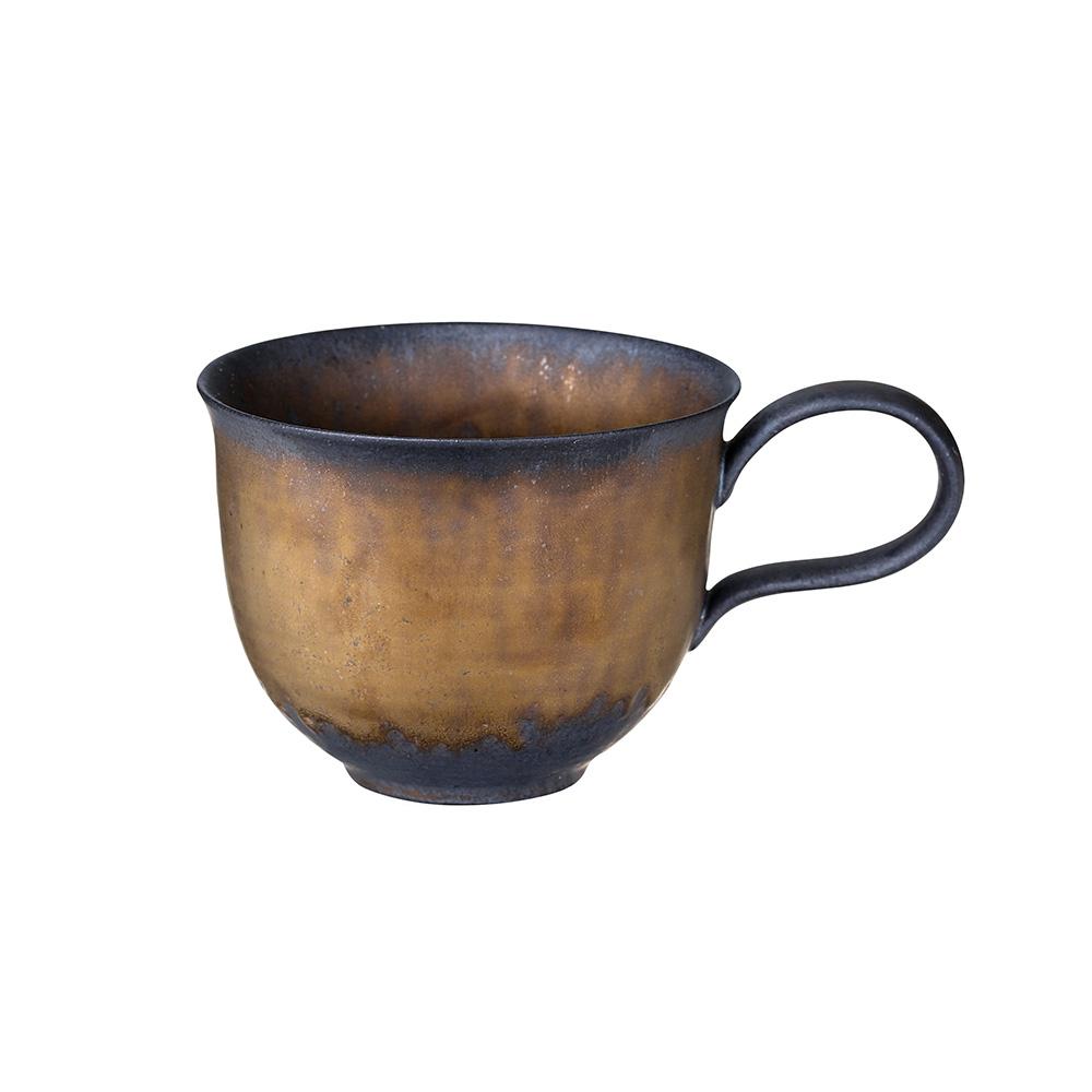 宜龍 黑鐵釉下午茶杯(280ml)