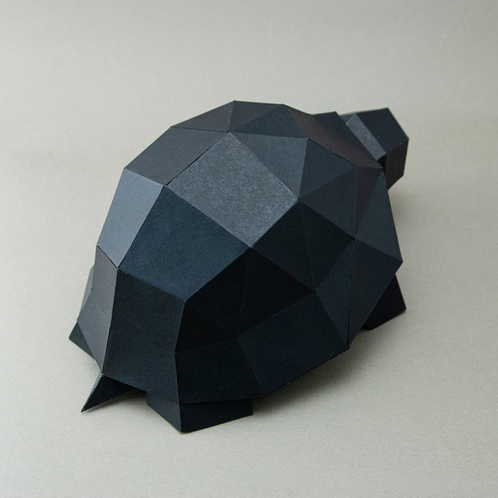 (複製)問創 Ask Creative|DIY手作3D紙模型擺飾 小動物系列 - 小兔子 (4色可選)