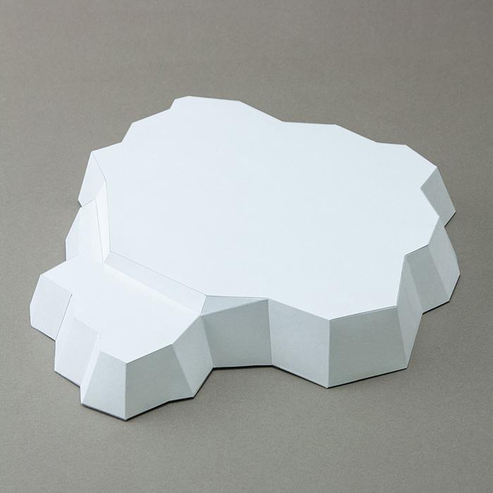 (複製)問創 Ask Creative|DIY手作3D紙模型擺飾 小動物系列 - 小豬 (4色可選)