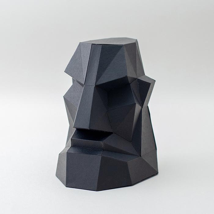 (複製)問創 Ask Creative|DIY手作3D紙模型擺飾 小動物系列 - 大象 (4色可選)
