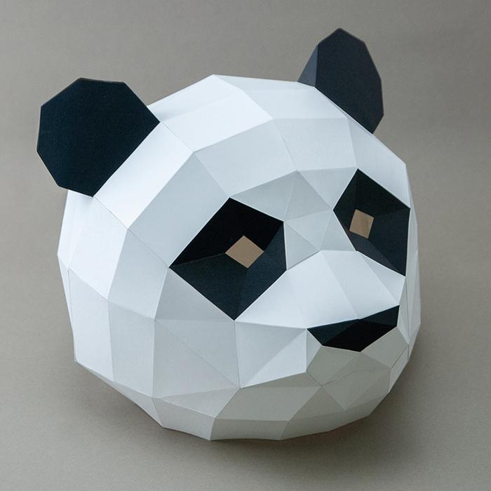 (複製)問創 Ask Creative|DIY手作3D紙模型擺飾 摩艾系列 - 淡定摩艾 (4色可選)