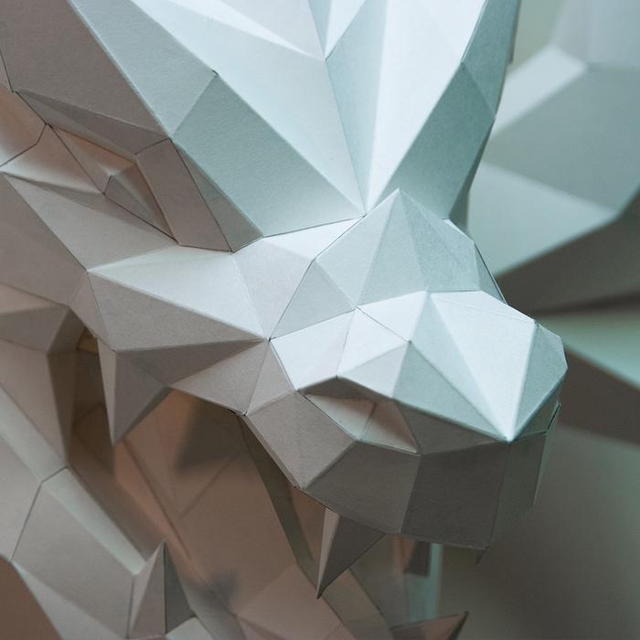 (複製)問創 Ask Creative|DIY手作3D紙模型擺飾 壁飾 掛飾 小動物系列 - 懶懶的樹懶