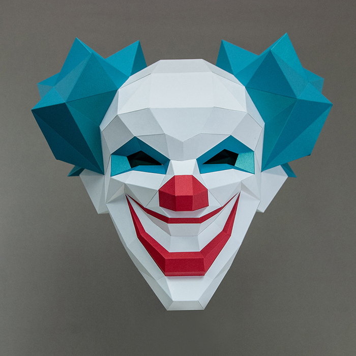 (複製)問創 Ask Creative|DIY手作3D紙模型 禮物 頭套 面具系列 - 瘟疫醫生鳥嘴面具