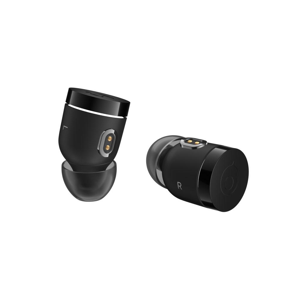 Crazybaby Nano 1S 二代彩色膠囊真無線耳機 - 消光黑