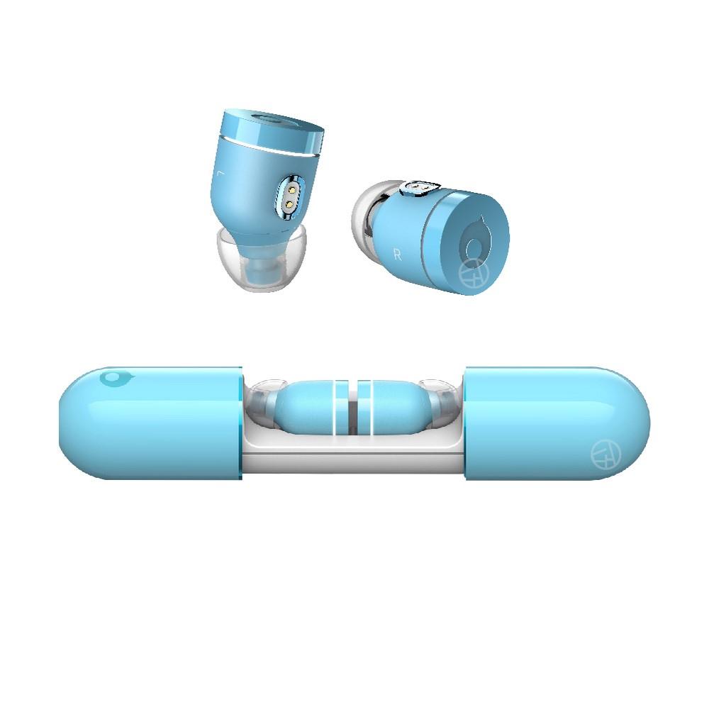 Crazybaby|Air Nano 彩色膠囊真無線耳機 - 淺藍