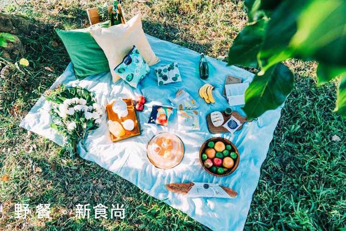 COSMICOS|Mia 青蘋果吐司 輕食袋 M
