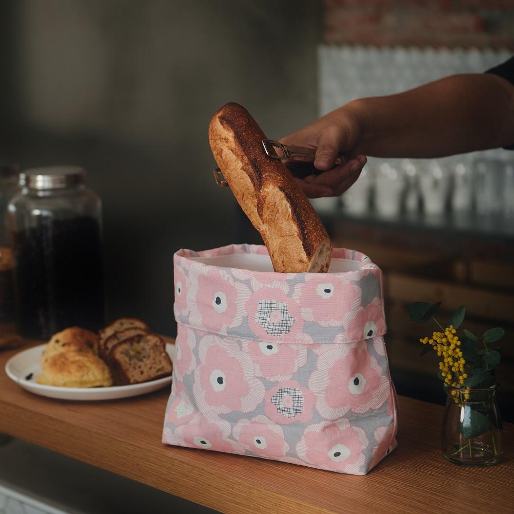 COSMICOS|台灣手工 環保食物背包袋 (紅粉佳人)